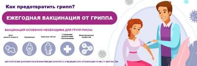 Ежегодная вакцинация от гриппа