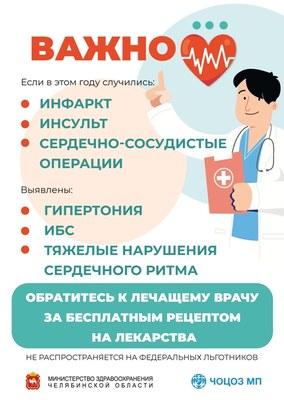 Бесплатные рецепты на лекарства
